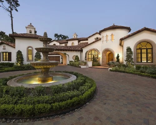 Spanish Driveway Home Design Ideas, Pictures, Remodel And