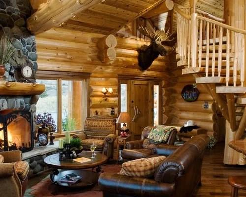 Log Cabin Decorating