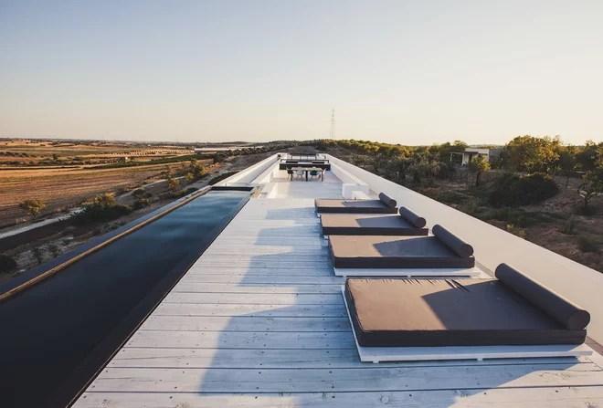 Contemporary Pool by Martino Tirelli