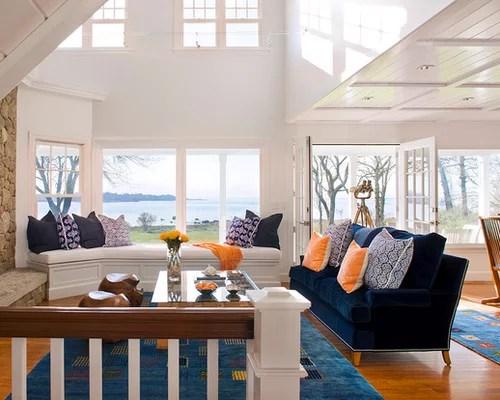 Coastal Living Room Home Design Ideas, Pictures, Remodel