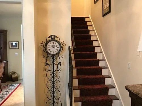 match my hardwood floors stairs to tile
