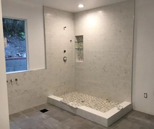 3x12 shower tiles grout size