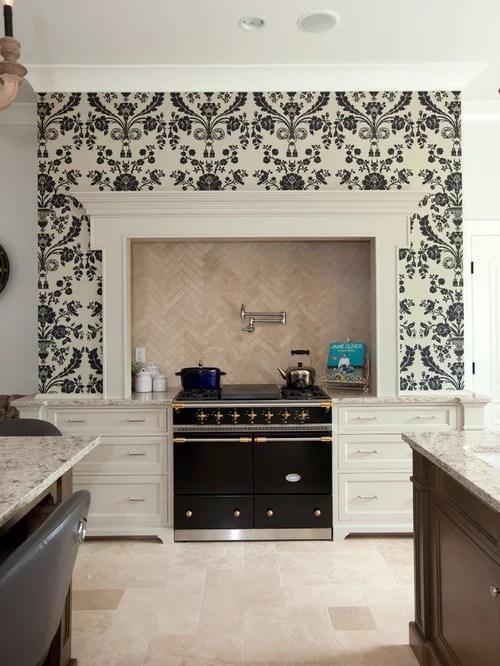 kitchen backsplash wallpaper - kitchen design