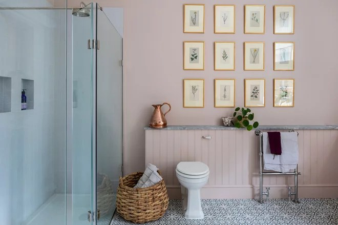 Traditional Bathroom by Imperfect Interiors