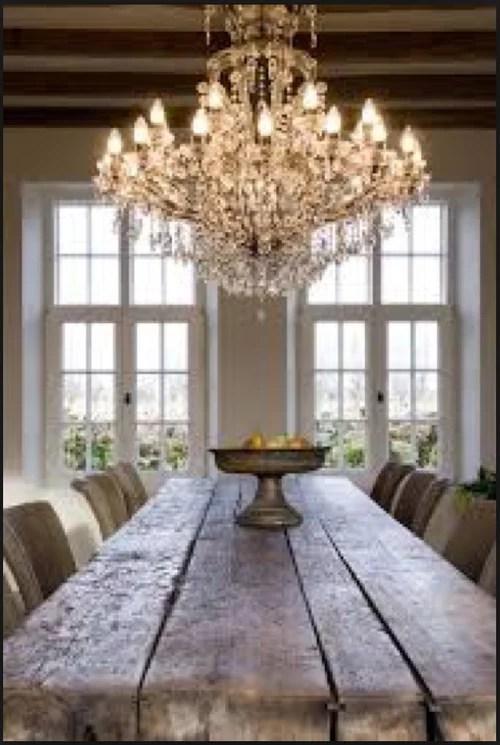 light fixtures in open concept living space