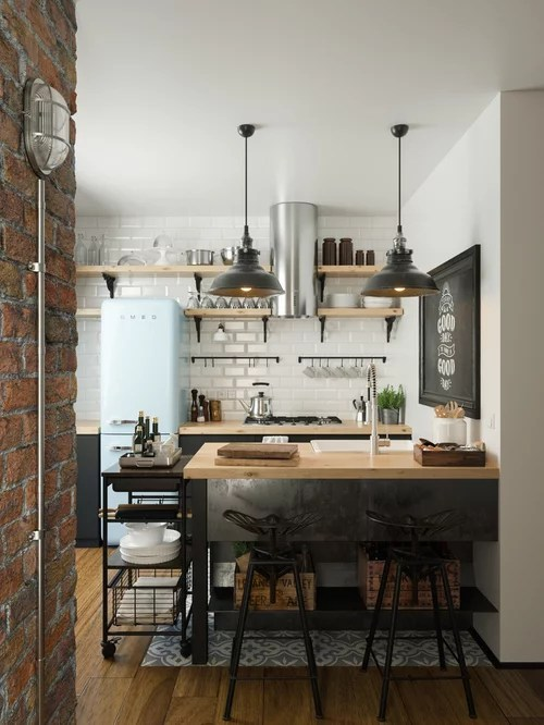 Small Galley Kitchen Peninsula