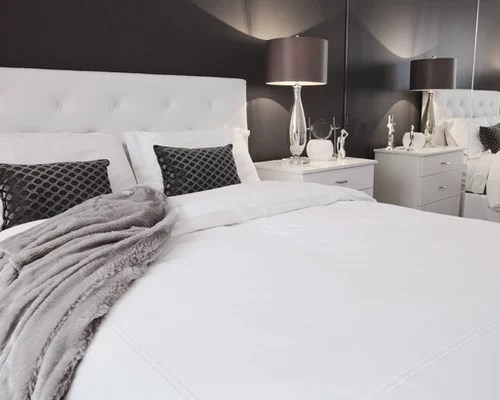 Gray And White Bedroom Photos