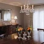 Vintage Gold Coast Condo Traditional Dining Room