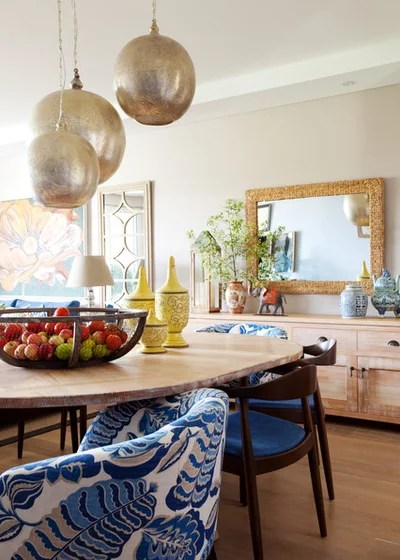 Eclectic Dining Room by AS you see it!