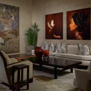 18 Beautiful Wallpaper Living Room Pictures Ideas October 2020 Houzz