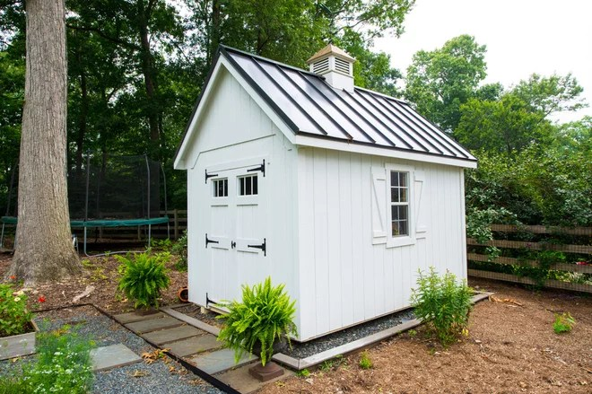 Traditional Shed by Smithouse