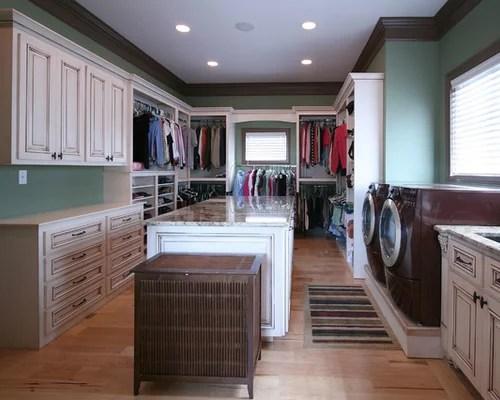 Washer Dryer In Master Closet Houzz