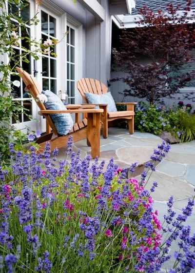 Traditional Patio by Garden Nest Residential Landscape