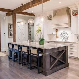 75 Most Popular Rustic Kitchen With Subway Tile Backsplash