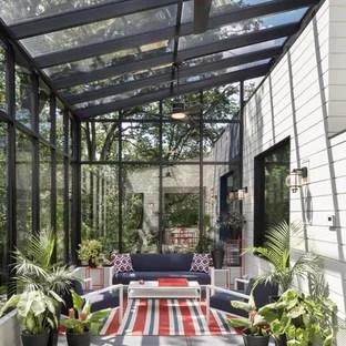 75 Most Popular Large Modern Conservatory Design Ideas For