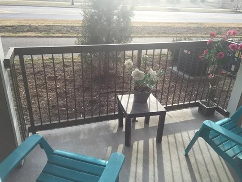 how to make my patio private apartment