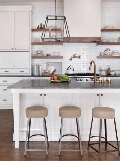 Transitional Kitchen by Anna Braund