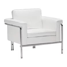 Singular Arm Chair - White