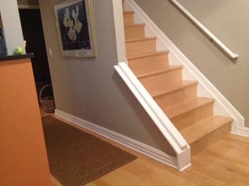 Any Tips For Choosing Carpet For A Runner On Maple Hardwood Stairs | Best Kind Of Carpet For Stairs | Stairway | Hardwood | Grey | Stair Runners | Herringbone