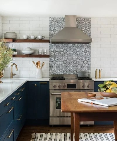 Farmhouse Kitchen by Heidi Caillier Design