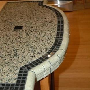 v cap tiles for counter edge ideas