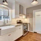100 Square Foot Kitchen Remodel Craftsman Kitchen
