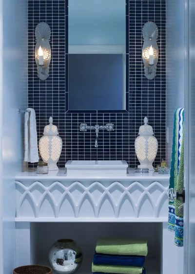 Eclectic Bathroom by Lucy Interior Design