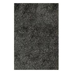 Shag Luster Shag Area Rug Rectangle Carbon 9'x12'