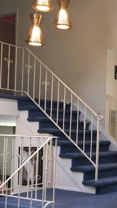 Suggestions To Update Wrought Iron Stair Railing Without Replacing   Home Depot Hand Railing Interior   Oak Stair   Wood   Stair Parts   Aluminum Stair   Stair Treads