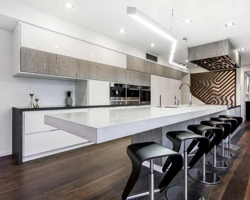 Galley Kitchen Dining Area