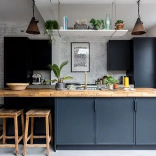 Mid Sized Kitchen Designs Inspiration For A Single