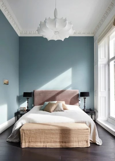 Transitional Bedroom by Dyer Grimes Architecture