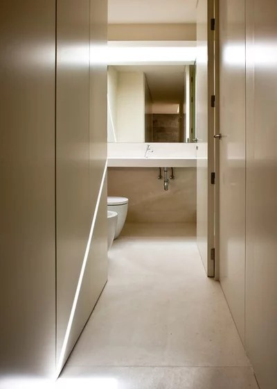 Contemporáneo Cuarto de baño by Fran Silvestre Arquitectos