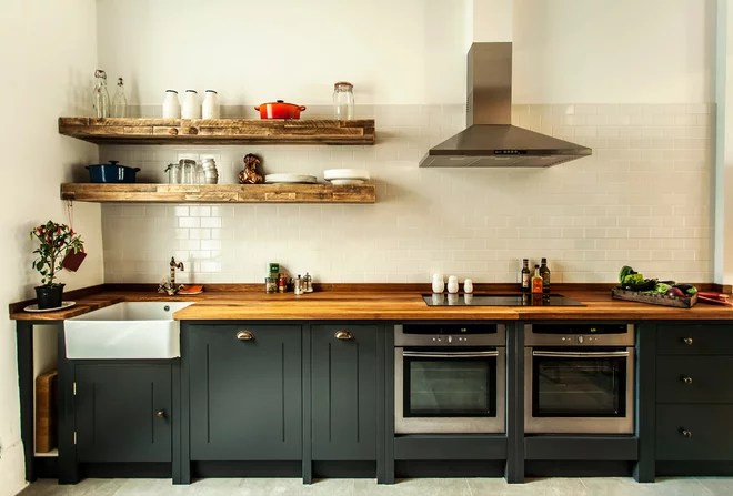 Industrial Kitchen by Compass and Rose