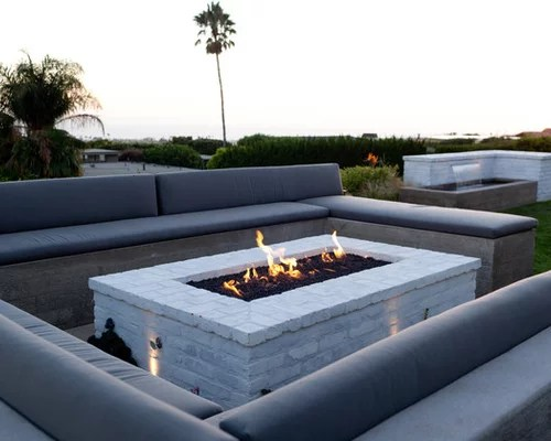Brick Fire Pit Home Design Ideas Pictures Remodel And Decor