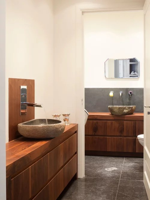 rock bathroom | houzz