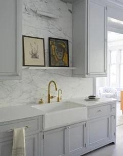 what to put on shelf above kitchen sink