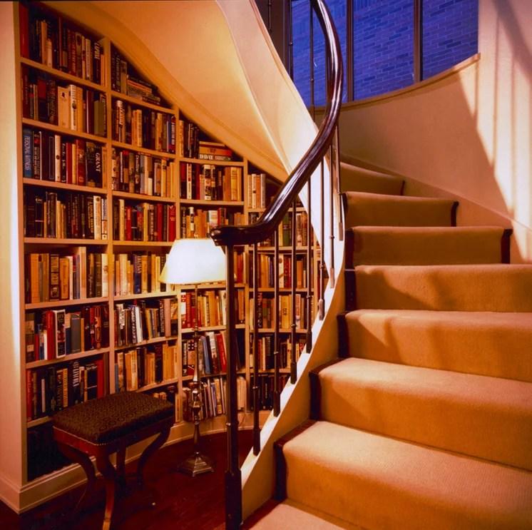 contemporary staircase by glenn gissler design