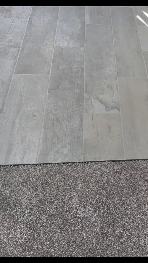 need help with tile to carpet transition