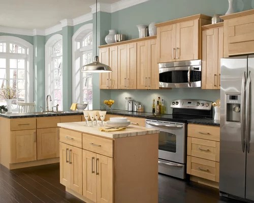 Maple Kitchen Cabinets Home Design Ideas, Pictures