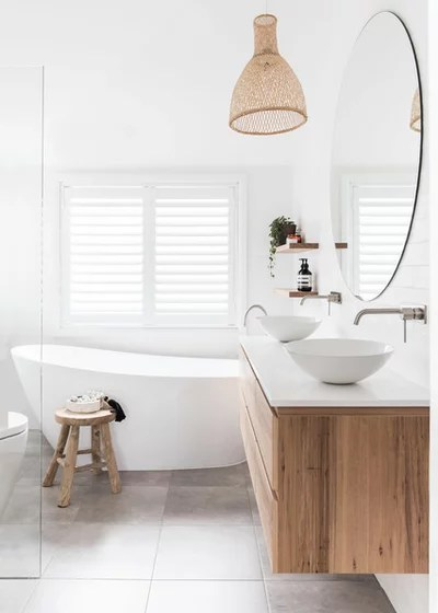 Contemporary Bathroom by Bone Made