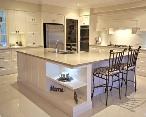 L Shaped Kitchen Island Bench