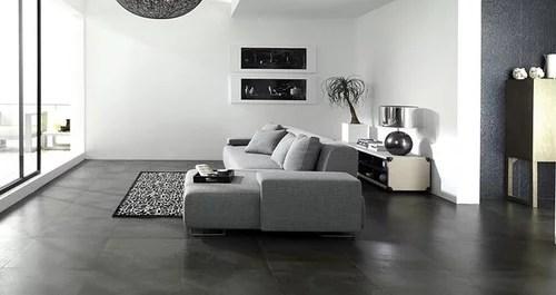 are black tile floors a mistake