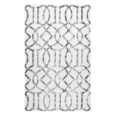 Lucrecia Area Rug Rectangle Silver 5'x8'