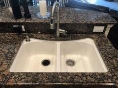 moenstone granite sink