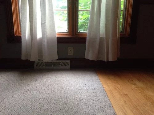 Do Curtains Need To Touch The Floor If They Are Sitting Right At Top O
