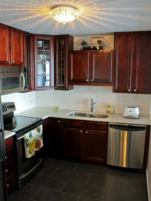 Condo Kitchen Remodel Houzz