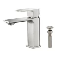 nickel bathroom sink faucets