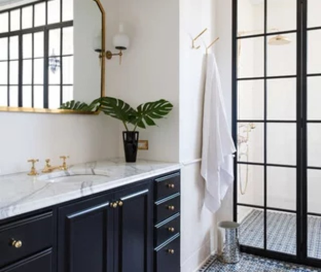 Inspiration For A Victorian White Tile Multicolored Floor Wet Room Remodel In New York With Black