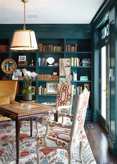Traditional Home Office by JBMP Architecture and Interior Design